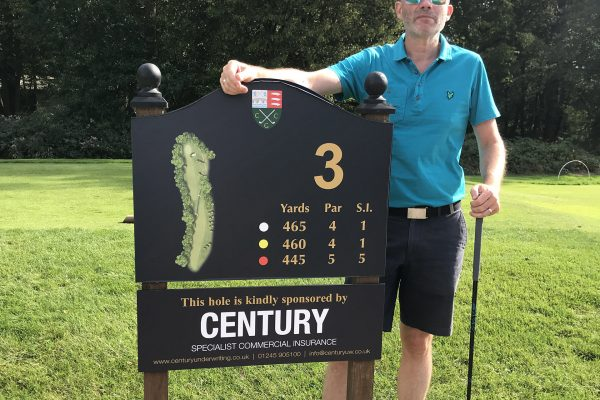 sponsorship golf