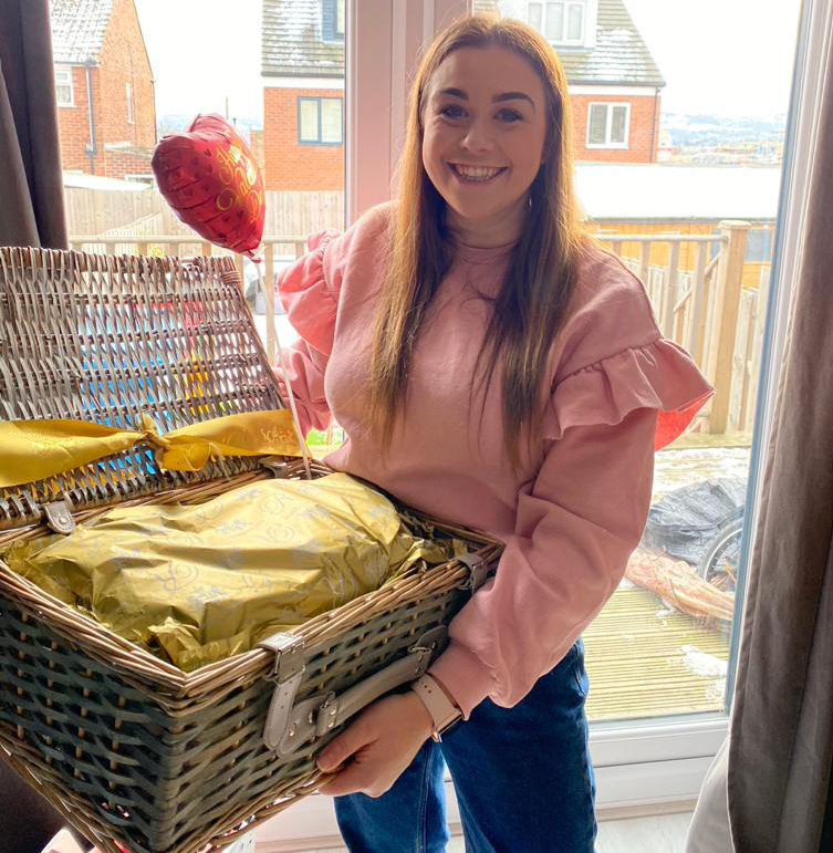 valentines prize draw winner